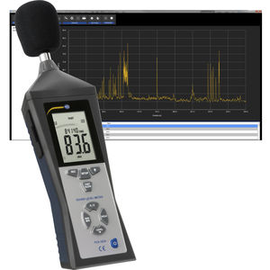 integrating sound level meter / with analysis function / class 2 / digital