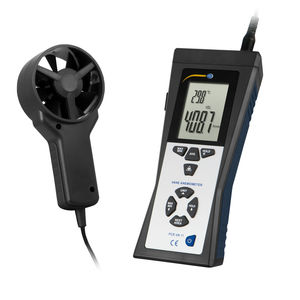 vane anemometer / portable / digital / wireless
