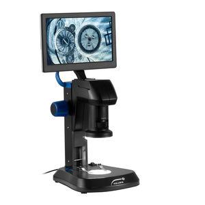 measuring video microscope / laboratory / educational / optical