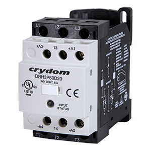power contactor / solid-state / three-phase / commercial