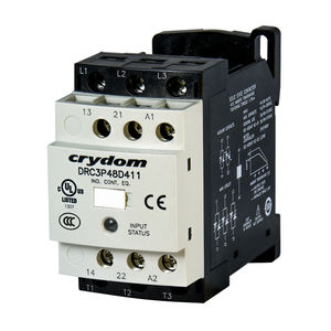 motor reversing contactor / solid-state / three-phase / IEC