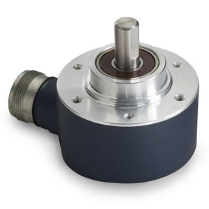 incremental rotary encoder / optical / solid-shaft / heavy-duty
