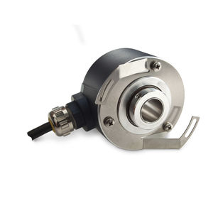 incremental rotary encoder / optical / hollow-shaft / shock resistant
