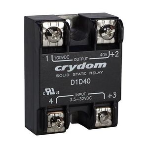 DC solid state relay / DC output / MOSFET / panel-mount