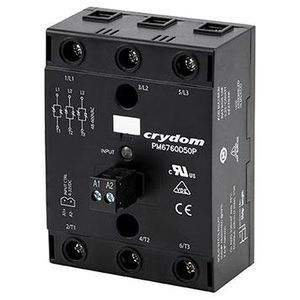 DC solid state relay / compact / panel-mount / three-phase