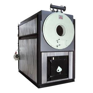 thermal fluid boiler / biomass / smoke tube / horizontal