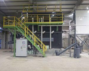 steam boiler / biomass / fire tube / horizontal