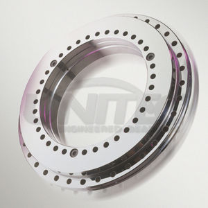 slewing ring without teeth / roller / single-row / precision