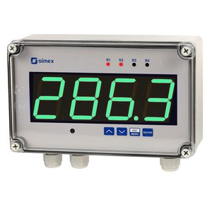 humidity indicator / process / signal level / temperature