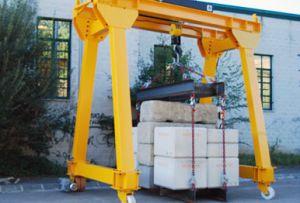 power-operated gantry crane