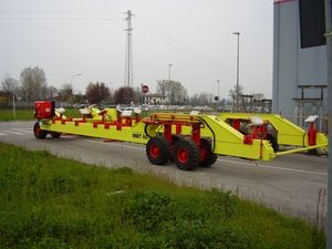 6-axle self-propelled trailer
