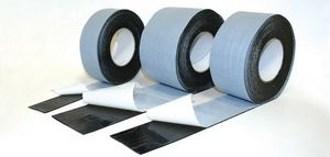 polyethylene adhesive tape / for electrical applications / fiber-reinforced