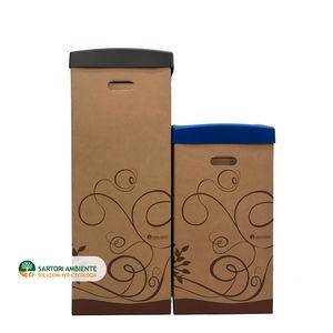 cardboard waste bin