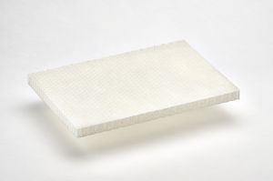 polypropylene honeycomb / for the building industry / for machine tools