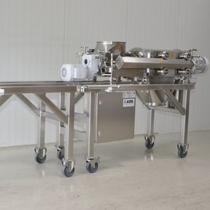 screw screener / for bulk materials / for the food industry