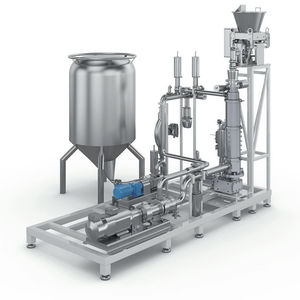 loss-in-weight dosing dispenser / powder / high-precision / continuous