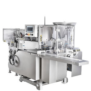 cheese filling and wrapping machine / for processed cheese