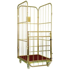 textile roll cage container / metal