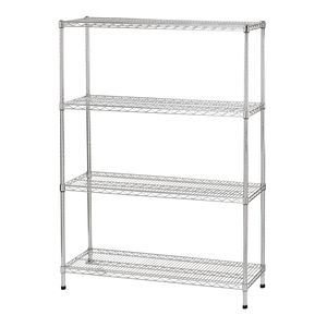 workshop shelving / light-duty / with shelves