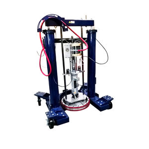 single-component mixing and metering unit / piston / adhesive / for robotic applications