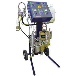 pneumatic resin transfer molding unit
