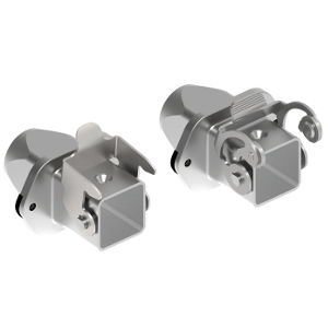 connector enclosure / compact / built-in / flange