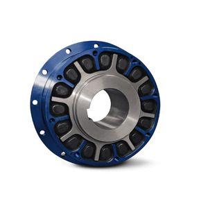 elastomer coupling / industrial / maintenance-free / torque