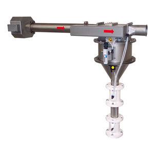 pneumatic separator / particle / metal / for bulk materials