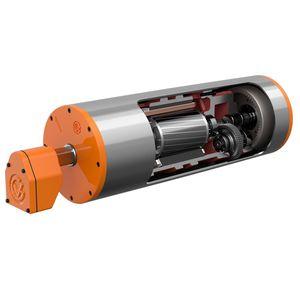 three-phase drum motor