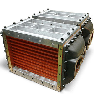 water-cooled cooler