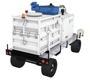 mobile vacuum cleaner / dry / electric / diesel engine