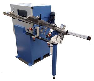 wooden handle threading machine