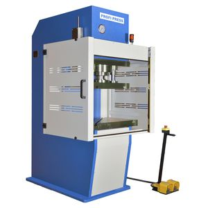 hydraulic press / stamping / punching / semi-automatic