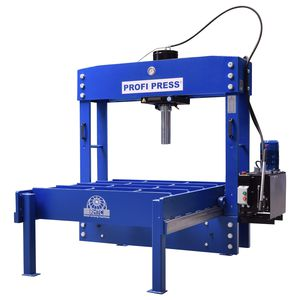 hydraulic press / straightening / for sheet metal / traveling-head