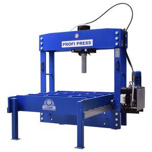 hydraulic press / motorized / straightening / wide