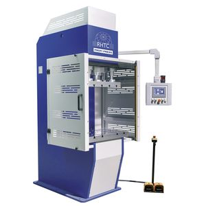 hydraulic press / forming / for production / PLC
