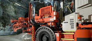 tunnel consolidation drilling rig