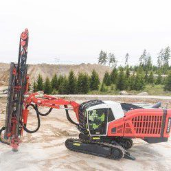 multifunction drilling rig / crawler / tophammer / construction