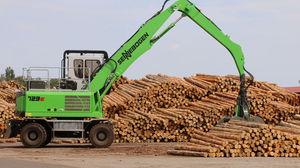 swing-arm log loader / mobile