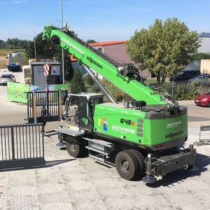 mobile crane / telescopic / boom / construction