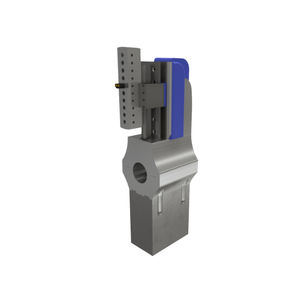 single-axis machining head / variable-angle