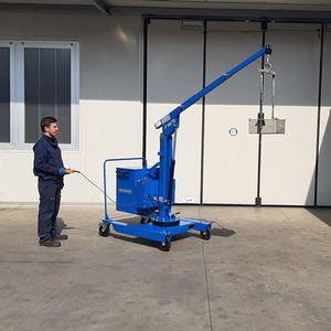 mobile mini crane