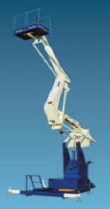 trailer-mounted telescopic boom lift