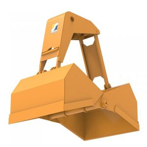 Bulk material clam bucket - All industrial manufacturers