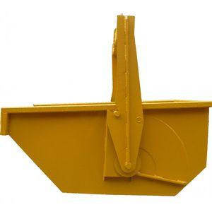 concrete self-discharging boat skip