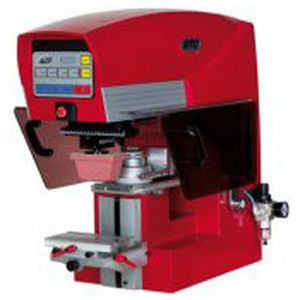 pad printing machine with closed ink cup / compact