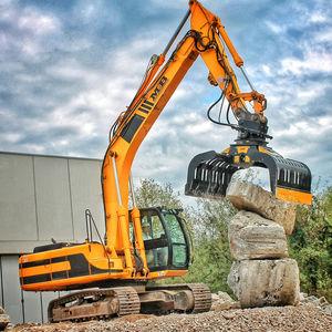 hydraulic demolition grapple / for excavators