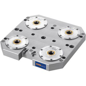 steel zero-point clamping system / plate