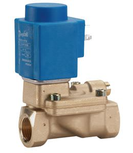 pilot-operated solenoid valve