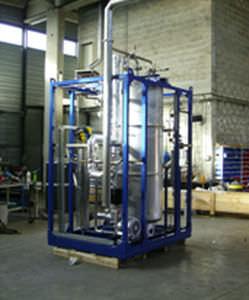 floor-standing gas purifier